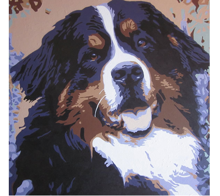 Pop Art Dog Portraits