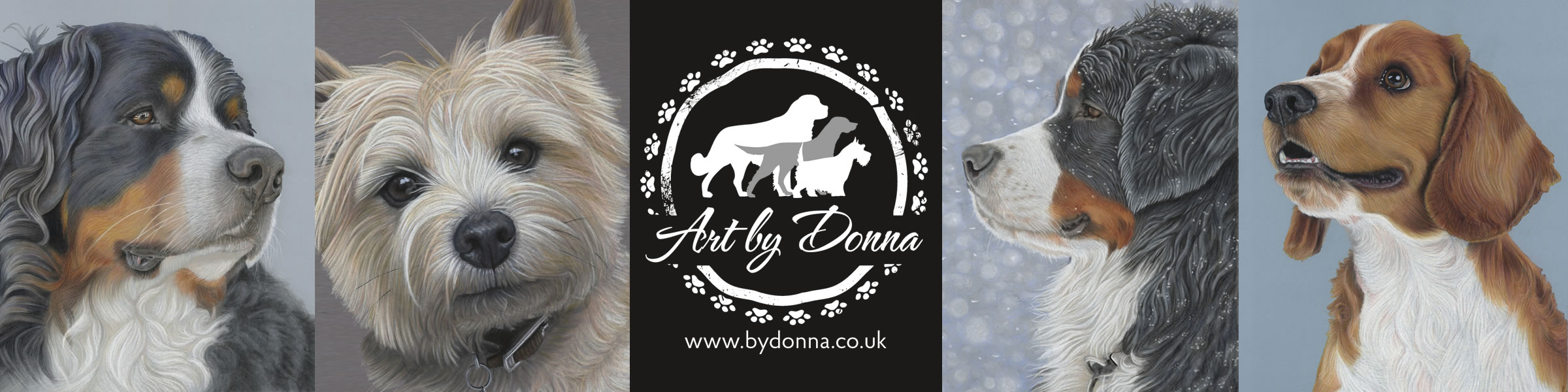 Pet Portrait Artist - Dog Portraits by Donna