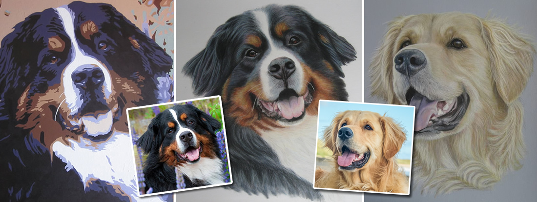 Photorealistic Pet Portraits